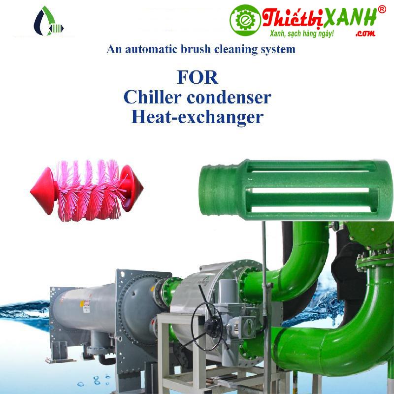Hệ thống làm sạch tự động ống Condenser Chiller