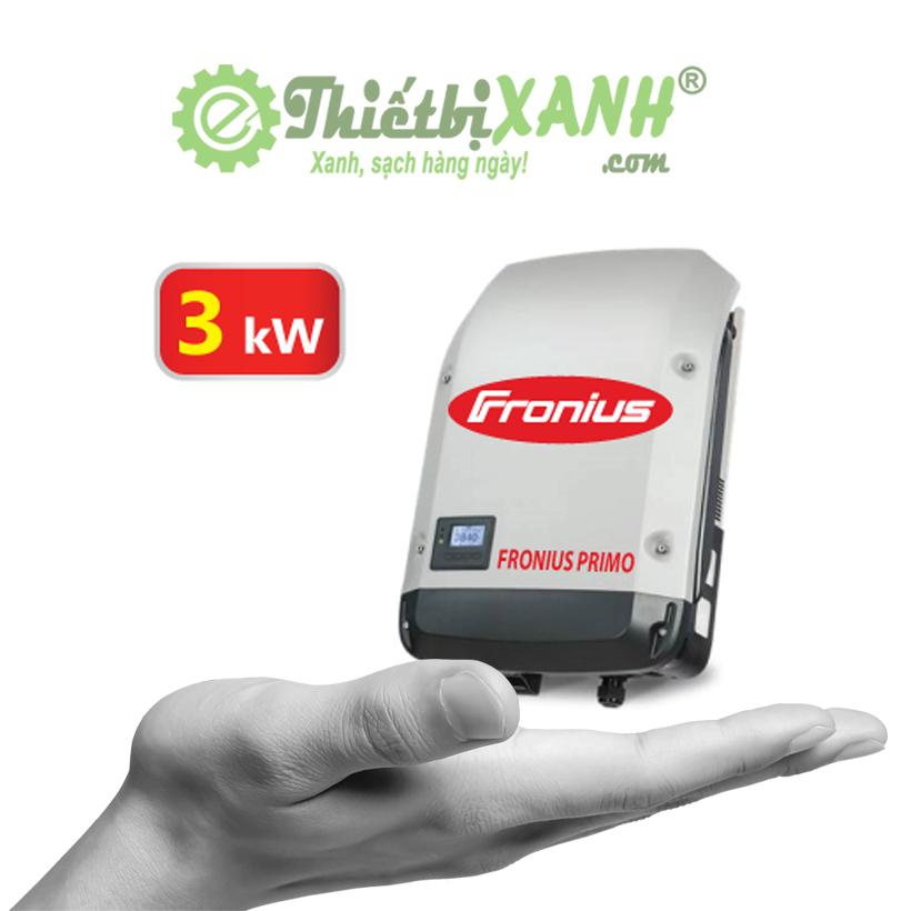 Inverter hòa lưới Fronius Primo 3.0-1 công suất 3 kW 1 pha 220V