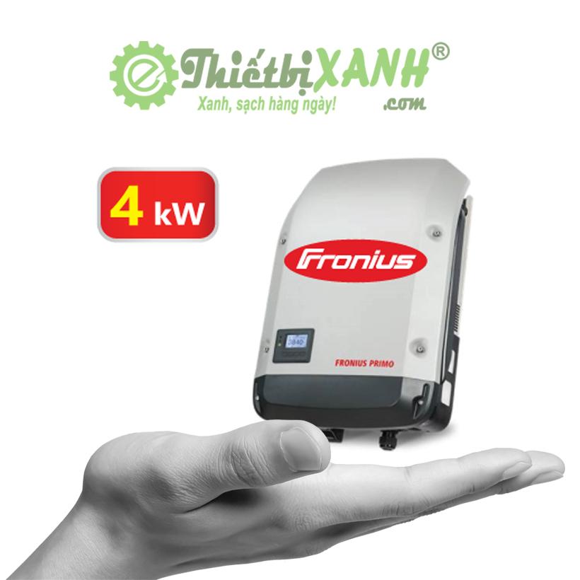Inverter hòa lưới Fronius Primo 4.0-1 công suất 4 kW 1 pha 220V