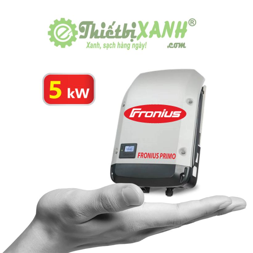 Inverter hòa lưới Fronius Primo 5.0-1 công suất 5 kW 1 pha 220V
