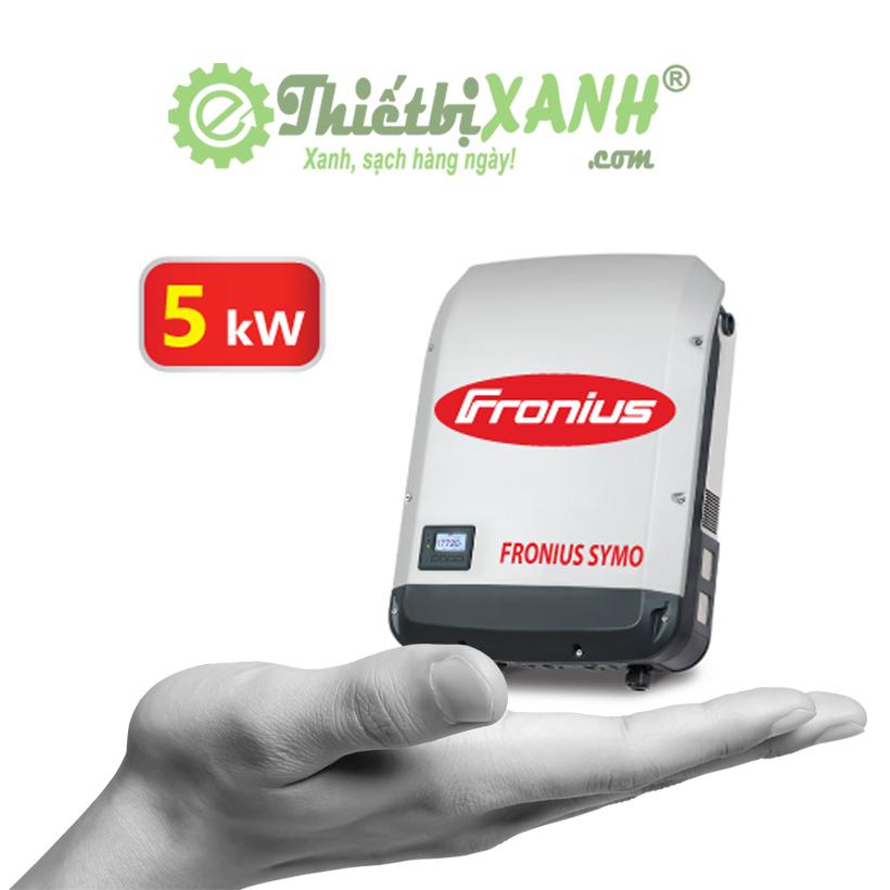 Inverter hòa lưới Fronius Symo M5.0 công suất 5kW 3 pha 380V